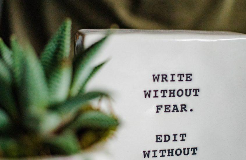 citation écriture pour se motiver