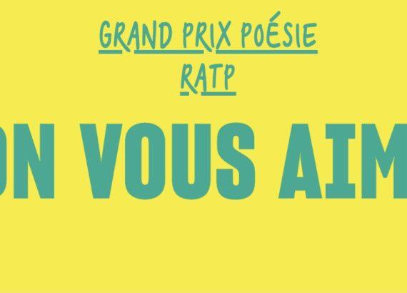 Mahuna Poésie Finaliste du grand prix de poésie de la RATP 2021